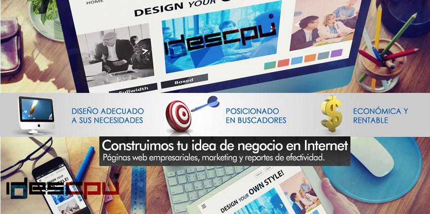 Diseño desarrollo y publicación de páginas web